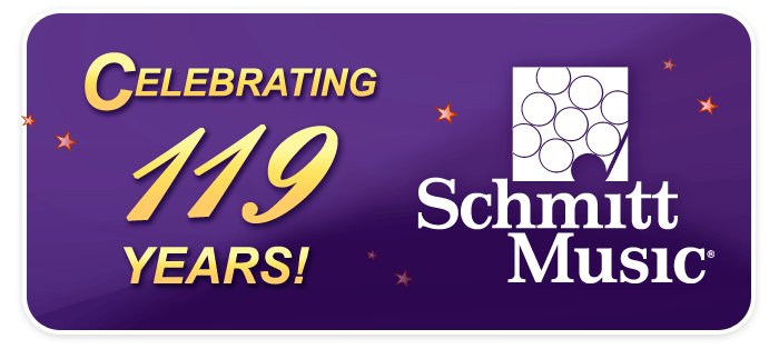 Schmitt Music music is 119 years old! November 16, 2015