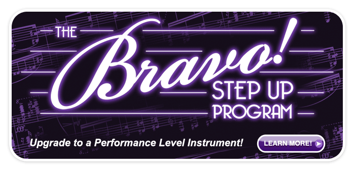 Bravo! Step-Up Instrument Program!