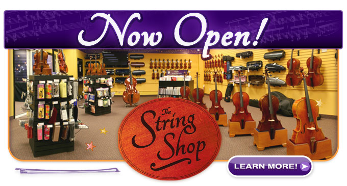 The String Shop, Minnesota violin store, is open!