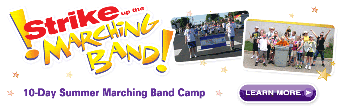 Strike up the Marching Band!
