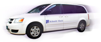Schmitt Music Delivers Band and Orchestra Instruments
