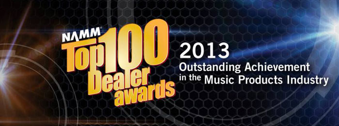 Top 100 Dealer Awards, NAMM
