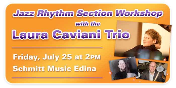 Jazz Rhythm Section Workshop with Laura Caviani and friends at Schmitt Music Edina
