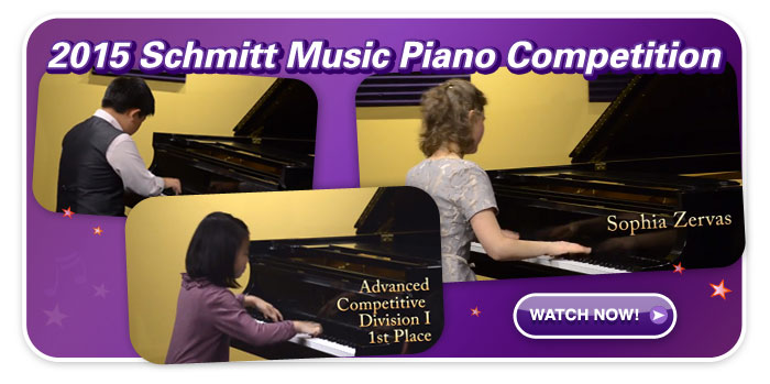 Piano Competition highlights!