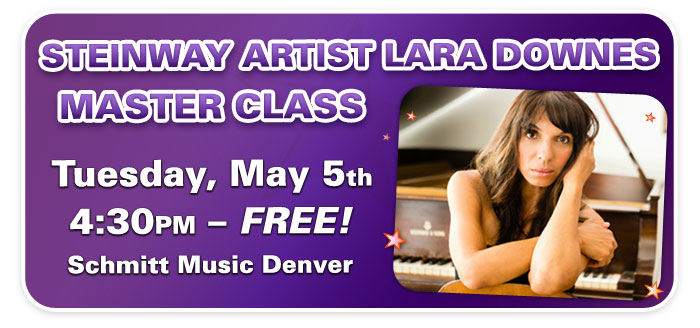 Master Class with Steinway Artist Lara Downes