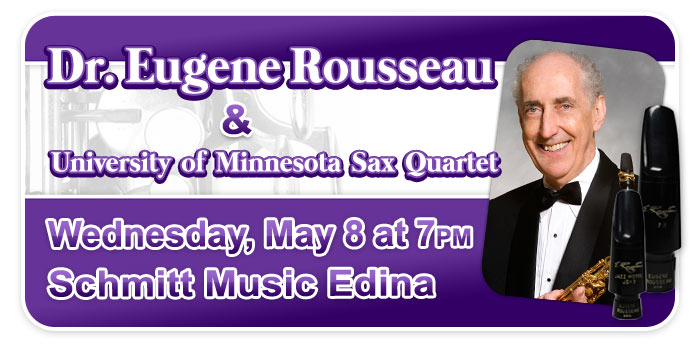 Dr. Eugene Rousseau Sax Clinic in Minneapolis