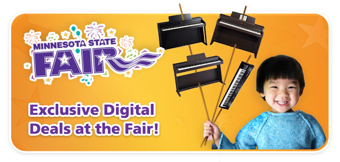 State Fair deals on keyboards, organs
