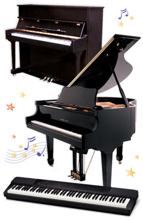 Casio, Lyrica pianos