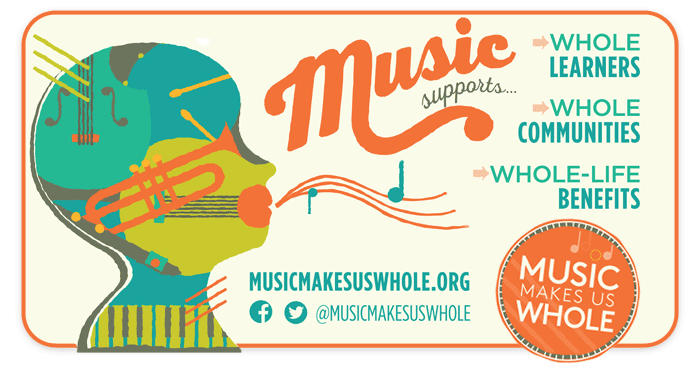 Music Makes Us Whole is supported by Schmitt Music