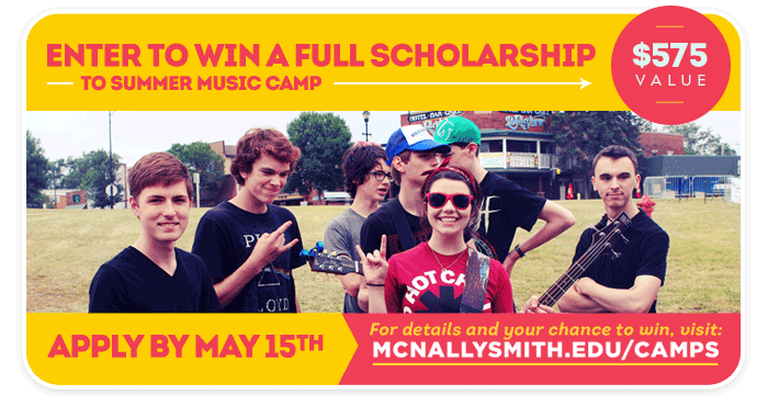 Shell Lake Summer Music Camp Scholarship contest!