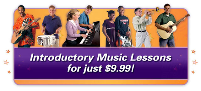 Intro Music Lessons