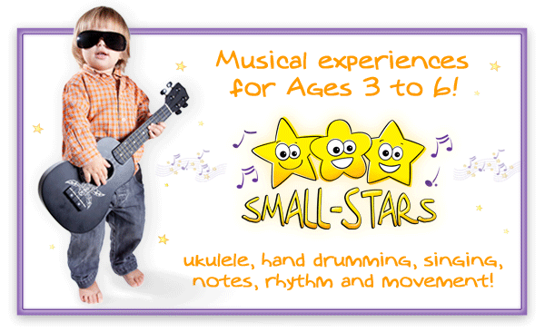 Small-Stars kids group music