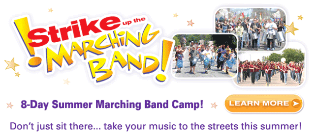 Strike Up The Marching Band