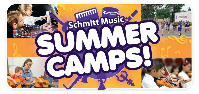 Schmitt Music Summer Camps | Piano, Guitar, Marching Band, Orchestral Strings