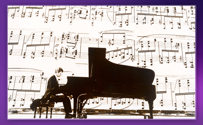Van Cliburn at Schmitt Music