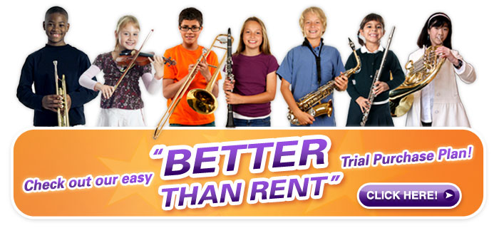Better than Rent school music instruments, back-to-school