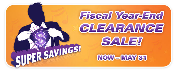 Fiscal Year-End Clearance Sale, piano sale, piano store
