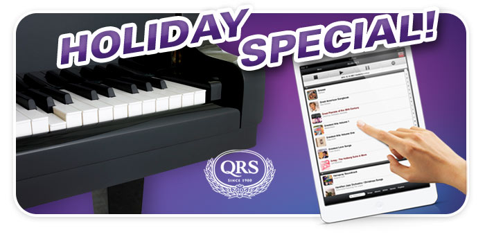 QRS Player piano system with Kawai GM-10K