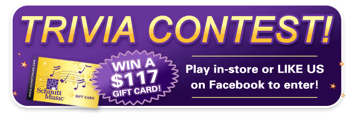 Trivia Contest for $117 Gift Cards!, Anniversary Month