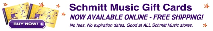 Schmitt Music Gift Cards