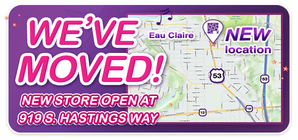 Schmitt Music Eau Claire has MOVED to a new location!
