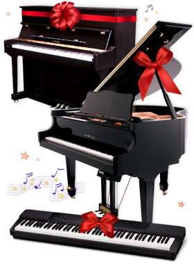 Lyrica grand piano, Lyrica studio piano, Casio digital pianos