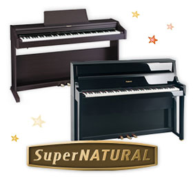 Roland SuperNATURAL digital pianos