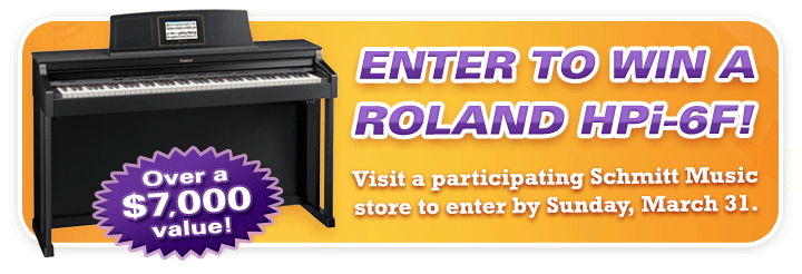 Win a Roland HPi-6F at Schmitt Music