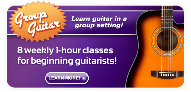 Schmitt Music Group Guitar Classes