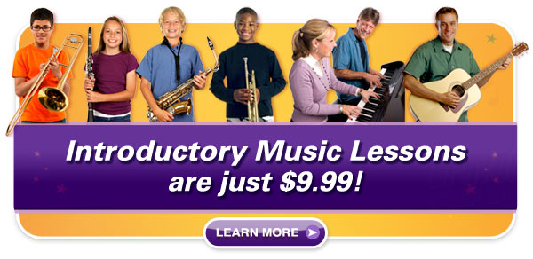 Introductory music lessons - super savings!