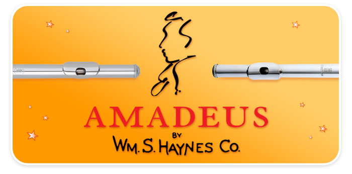 Amadeus Flutes by Wm. S. Haynes are now available at your Schmitt Music store!