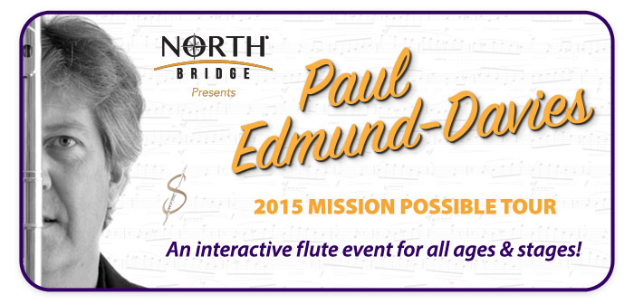 "Paul Edmund-Davies ""Mission Possible Tour"" at Schmitt Music Brooklyn Center!"