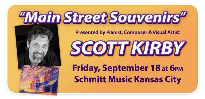"""Scott Kirby's """"Main Street Souvenirs"""" Concert at Schmitt Music Kansas City!"""