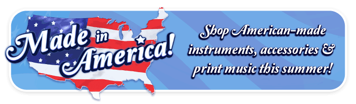 """Made in America"" event at your Schmitt Music store!"