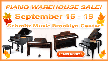 Piano Warehouse Sale! – Brooklyn Center, MN