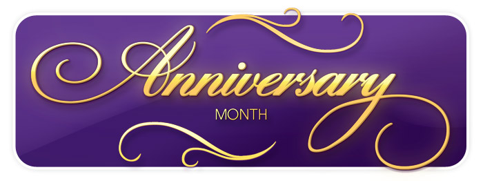 It's Anniversary Month at Schmitt Music!  Celebrate with us!