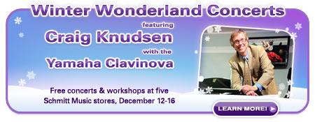 Yamaha Clavinova Concerts with Craig Knudsen