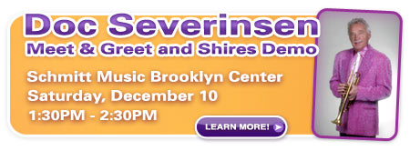 Doc Severinsen Shires Trumpet Event – Brooklyn Center, MN