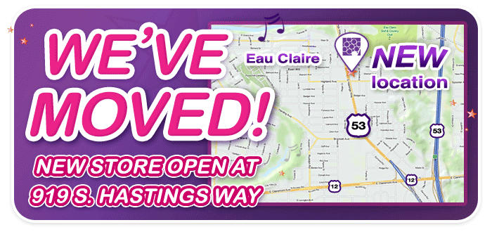 Schmitt Music Eau Claire is OPEN AT A NEW LOCATION!