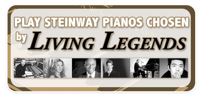 Living Legends Steinway Concert & Artist Pianos come to Schmitt Music Denver!