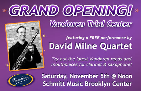 Vandoren Trial Center Grand Opening – Brooklyn Center, MN