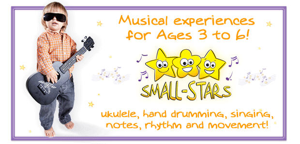 Small-Stars Summer classes now added!