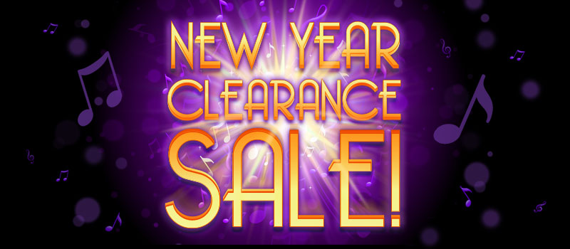 New Year Clearance Sale at Schmitt Music Denver