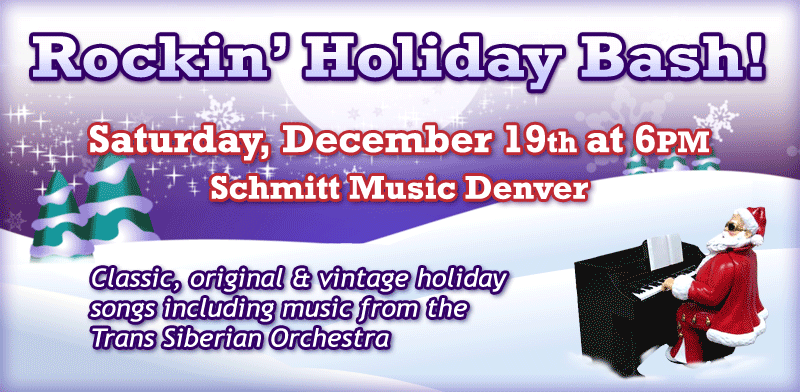 Rockin' Holiday Bash featuring Pianist Nick Busheff and Friends!