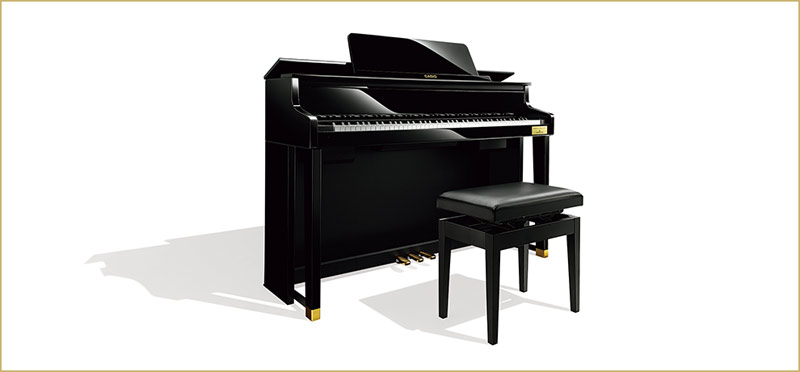 Casio Grand Hybrid Pianos: Celviano GP-500 – Special Trade-In Offer!