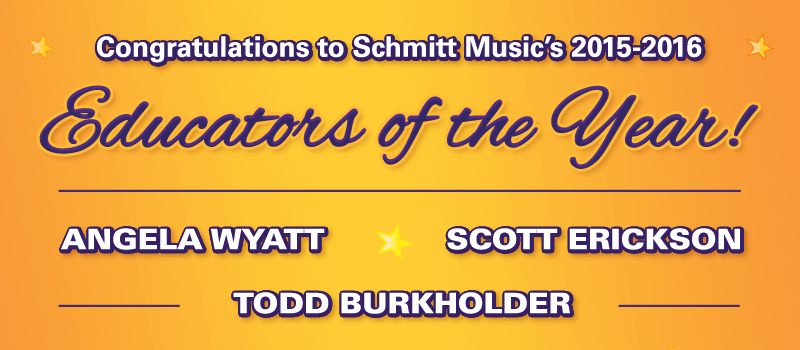 Congratulations to the 2015-2016 Educators of the Year!