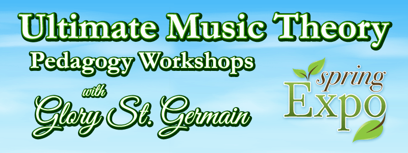 Spring Expo: Ultimate Music Theory workshops with Glory St. Germain at Schmitt Music!