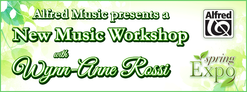 Spring Expo: Alfred Music presents Wynn-Anne Rossi at Schmitt Music Edina