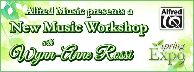 Spring Expo: Alfred Music presents Wynn-Anne Rossi at Schmitt Music Edina