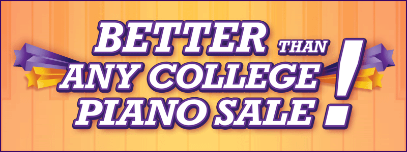 """Better Than Any College Piano Sale"" at Schmitt Music Omaha!"